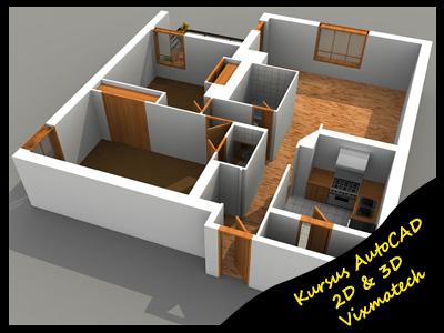 Autocad Home Design Tutorial Free Blender Tutorial Create A 3d Autocad Interior Design Tutorial